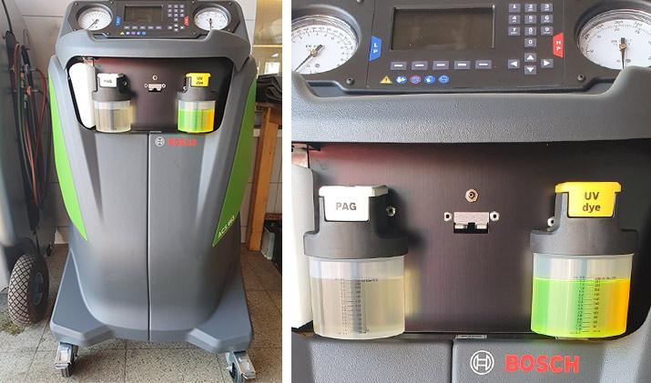 Automatická plnička klimatatizace BOSCH ACS 663RI (R-1234yf)