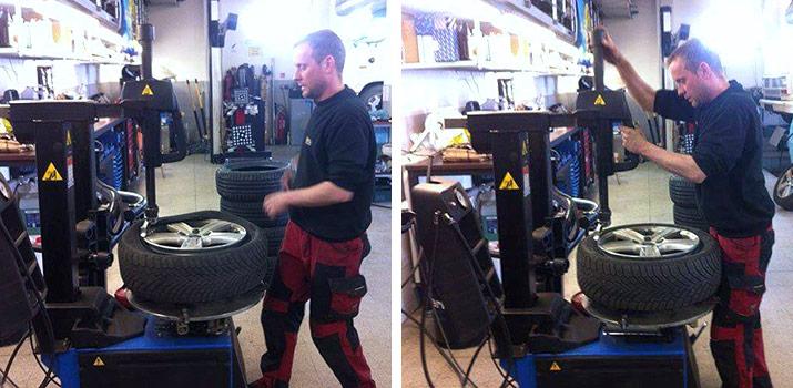 Přezování pneumatik