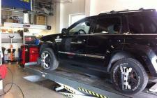 Seřízení nápravy vozidla