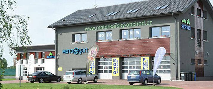Motorkářský obchod
